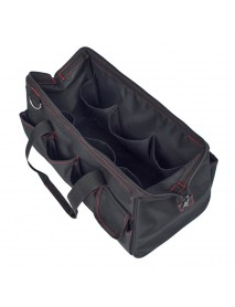 18 Inch Multifunction Portable Canvas Garden Tools Messenger Storage Bag Large Capacity Waterproof Bags for Gardening Woodworking