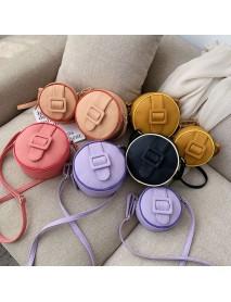 Bag Female New Candy Color Small Round Bag Handbag Mini Shoulder Slung Small Bag