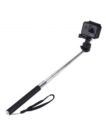 PULUZ PU55 Extendable Handheld Selfie Stick Monopod for Action Sport Camera