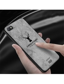 Bakeey Deer Pattern Shockproof Cloth Soft TPU Back Cover Protective Case for Xiaomi Redmi 6A