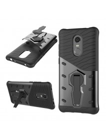 Bakeey Hybrid Shockproof TPU+PC Armor Stand Holder Protective Case For Xiaomi Redmi 5 Plus