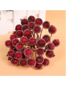 20pcs Artificial Simulation Foam Berry Pomegranate Fruit Bouquet Garlan Wedding Party Decoration