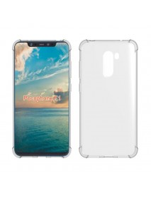 Bakeey Four-corner Shockproof Transparent Soft Back Cover Protective Case for Xiaomi Pocophone F1