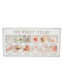 Infant's Baby One Year Picture Hanging Decorative Banquet Photo Picture Frames