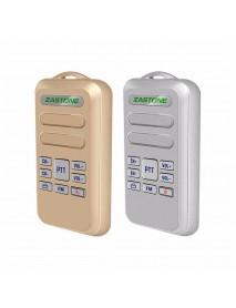 2pcs ZASTONE Mini6 Mini Walkie Talkie 2W 16CH 1000mAh UHF 440-470MHz Two Way Radio HF Transceiver