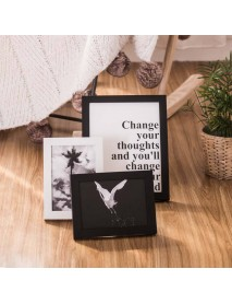Geometry 13pcs H7 Wall Photo Frame Family Wooden Picture Frame Desktop Picture Sets Square Picture Photo Holder From Xiaomi Youpin