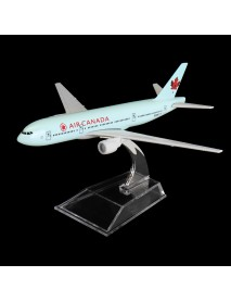 16CM Metal Diecast Plane Model Aircraft Boeing Airlines Aeroplane Desktop Toys