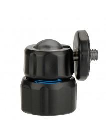 Ulanzi U-20 ABS 1/4 Screw Mount Rotating 360 Degree Ballhead Mini Tripod Ball Head