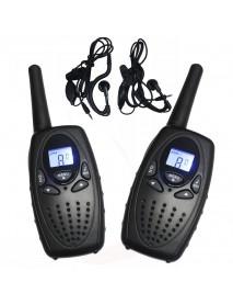 1 Pair T628 0.5W PMR466 Portable Two Way Handheld Radio Mini Walkie Talkie