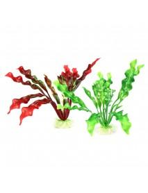 Aquarium Artificial Grass Plant Decorations Water Weed Ornament Fish Tank Decor