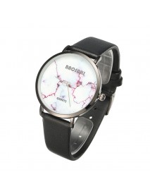 BAOSAILI Fashion Casual PU Leather Band Women Quartz Watch Wristwatch