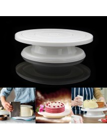 Cake Turntable Rotating Anti-skid Round Cake Decorating Stand Rotary Plate Kitchen DIY Baking Tool Baking Mold
