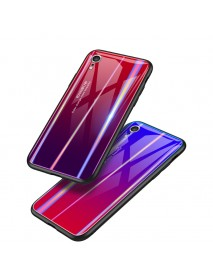 Bakeey Laser Gradient Tempered Glass Protective Case For iPhone XR/XS/XS Max