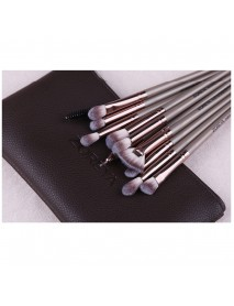12 Pcs/lot Makeup Brushes Set Eye Shadow Brushes Blending Eyeliner Eyelash Tool