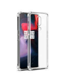 Bakeey Clear Shockproof Silicone Protective Phone Case for OnePlus 6