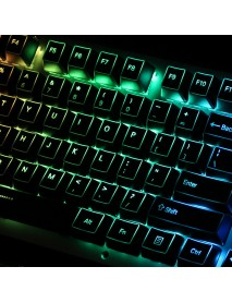 108 Key ABS OEM Profile Outlined Backlit Translucent Keycap Keycaps Set for Mechanical Keyboard