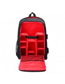 16 Inch Nylon Waterproof Large Outdoor Camera Bag Shockproof Digital DSLR Bag Camera Backpack for Nikon