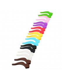 Colorful Silicone Sports Temple Tips Anti-slip Glasses Cover for Reading Glasses Sunglasses