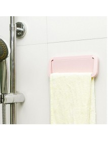 1Pc Multi-Functional Hanger Kitchen Paste Towel Hanging Holder Bathroom Accessories