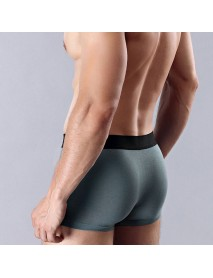 4 Pieces Mens Antibacterial Big Size Mid Rise Breathable Comfortable Boxer Underwear