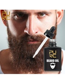20ml PURC Beard Oil Promotes Growth Thicker & Fuller Facial Hair Premium Natural Hair Growth Essence