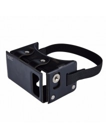 TOCHIC Leather 3D VR Glasses Virtual Reality Games Movies Device For 4.0-inch to 5.5-inch Smartphone