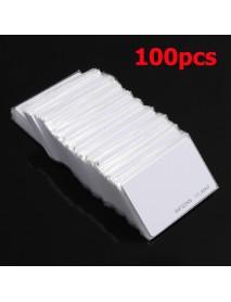 100Pcs RFID 125KHz Proximity Door Control Entry Access EM Card 0.9mm