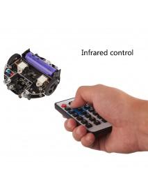 Kittenbot miniLFR DIY Smart RC Robot Car Scratch Program Tracking Obstacle Avoidance Robot Car Compatible Microbit