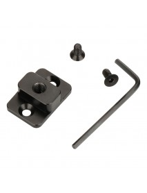 AgimbalGear Extension Monitor Quick Release Mounting Board Plate for Dji Ronin S Gimbal