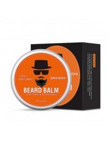 7Pcs Beard Oil Comb Beard Balm Brush Mustache Styling Care for Men Grooming Kit