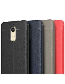 Bakeey Drop-Resistance Litchi Texture Soft TPU Protective Case For Xiaomi Redmi 5 Plus