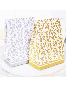 50pcs Creative Wedding Candy Gift Box Wedding Party Chocolate Candy Gift Paper Boxes