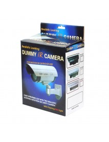 CA-11-05 2-in-1 Power Supply 30pcs IR LED Light Outdoor Fake CCTV Dummy Simulational Camera