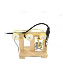 DIY Hand Manual Crank Generator Kit Child Training Materials Motor Handmade Science Invention Toys