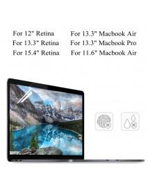 PET Clear Transparent Anti Glare Screen Protector For Macbook Air 11.6/13.3