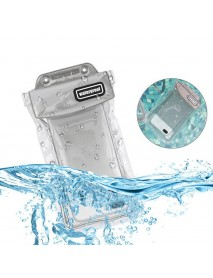 Universal IPX8 Waterproof Double Sealing Airbag Floating Touch Sensitive Phone Bag for iPhone Xiaomi