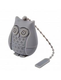 Honana CF-BT01 Silicone Non-toxic Owl Tea Bags Strainers Tea Spoon Filter Infuser Coffee Tea Tools