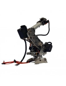 6DOF SNAM1100 Hard Alloy DIY Robot Arm with 4 Pcs MG996R Servo 2Pcs MG90S Servo