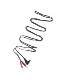 2Pcs Standard Electrode Lead Wires Standard Pin Connection Massager Accessories