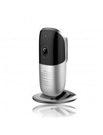 1080P WiFi IP Camera 185 Degree Panoramic View Two Way Audio Security Camera Support 128G Storage