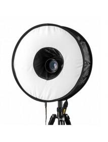 45cm Magnetic Easy-Fold Macro Ring Circular Round Softbox for Speedlite Flashlight