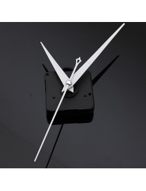 10Pcs DIY White Triangle Hands Quartz Black Wall Clock Movement Mechanism