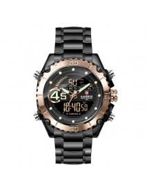 KADEMAN K9054 Sport Men Digital Watch Luminous Date Week Display Waterproof LCD Dual Display Watch