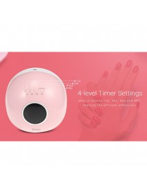 72W 33LEDs UV Nail Lamp Smart Sensing Gel Nails Polish Dryer Manicure Machine US
