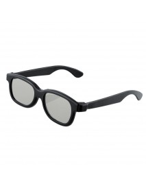 10pcs Black Round Polarized 3D Glasses for DVD LCD Video Game Theatre TV Theatre Movie