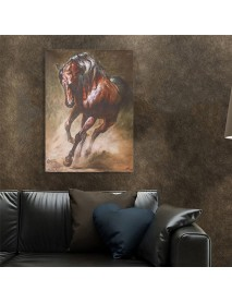 Horse Oilcolor Wall Paintings Canvas Picture Art Print Unframed Mural Home Decorations