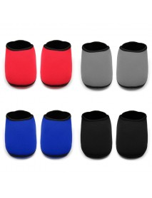 1 Pair Colorful No Slip Ankle Pad Yoga Sock Sport Protector Skin Friendly