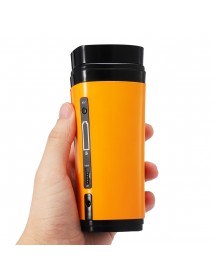 USB Coffee Cup Rechargeable Heating Self Stirring Mixing Mug Warmer Coffee Capsule Cup