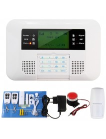 Wireless GSM and PSTN SMS Home House Alarm System Security Auto Dialer SOS Siren