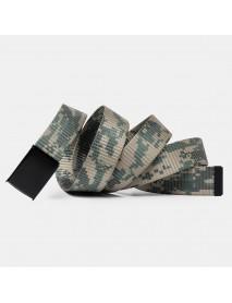 160cm Nylon Waist Leisure Belts Zinc Alloy Tactical Belt Quick Release Inserting Buckles Belts